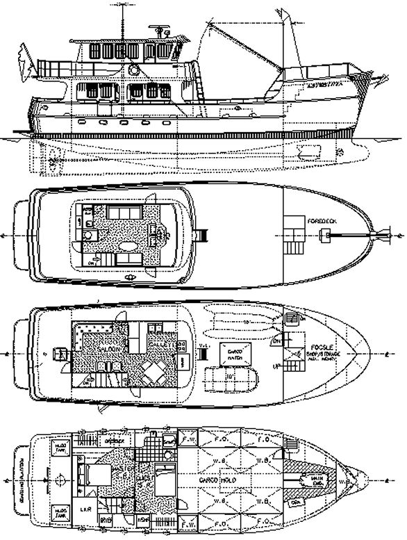 65' Adventure Yacht, project 453